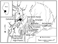 Regional studies of Mississippian period cultures in the American Bottom