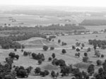 Aerial view of Monks Mound, Cahokia, part of Dr. Pauketat's research focus