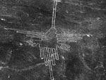 Nazca lines of Peru, part of Dr. Silverman's research focus